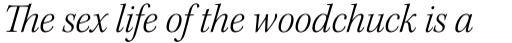 Kepler Std SubHead Light Italic sample
