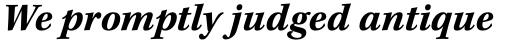Kepler Std Caption Bold Italic sample