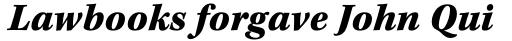 Kepler Std Caption Black Italic sample