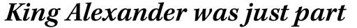 Kepler Std Caption SemiBold Italic sample