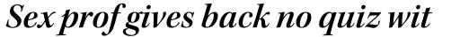 Kepler Std SubHead SemiBold Italic sample