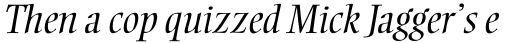 Ellington MT Std Light Italic sample
