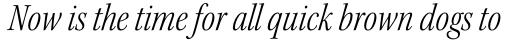 Kepler Std SubHead Cond Light Italic sample