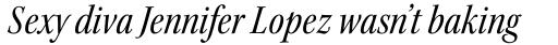 Kepler Std SubHead Cond Italic sample