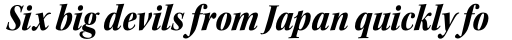 Kepler Std SubHead Cond Black Italic sample