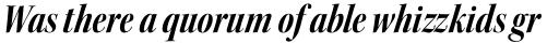 Kepler Std Display Cond Bold Italic sample