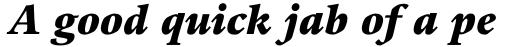 Guardi LT Std Black Italic sample