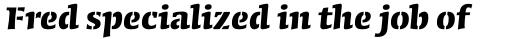 Conga Brava Std Stencil Bold sample