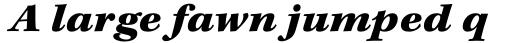 Kepler Std Caption Ext Black Italic sample