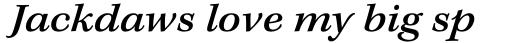 Kepler Std Caption Ext Medium Italic sample
