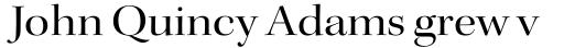 Kepler Std Display Ext Regular sample