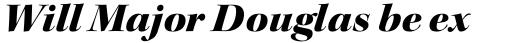 Kepler Std Display Ext Black Italic sample