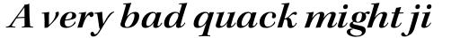 Kepler Std SubHead Ext SemiBold Italic sample