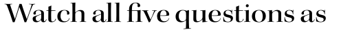 Kepler Std Display Ext Medium sample