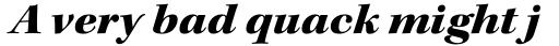 Kepler Std SubHead Ext Black Italic  sample