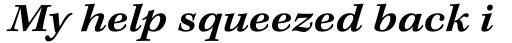 Kepler Std Caption Ext SemiBold Italic sample
