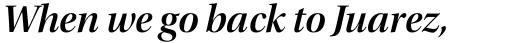 Utopia Display SemiBold Italic sample
