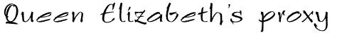 Ruling Script LT Std 2 sample
