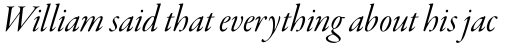 Garamond Premr Pro Display Italic sample