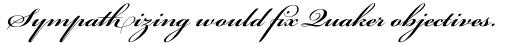 Bickham Script Pro Semibold sample