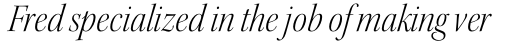 Kepler Std Display SemiCond Light Italic sample