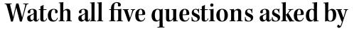 Kepler Std SubHead SemiCond SemiBold sample