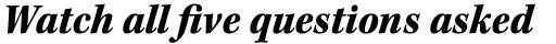 Kepler Std SemiCond Black Italic sample