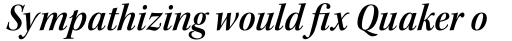 Kepler Std SubHead SemiCond SemiBold Italic sample
