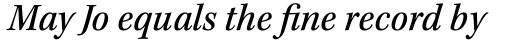 Kepler Std SemiCond Medium Italic sample