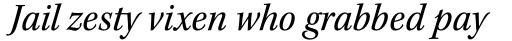 Kepler Std SemiCond Italic sample