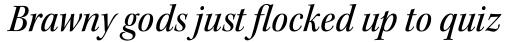 Kepler Std SubHead SemiCond Medium Italic sample