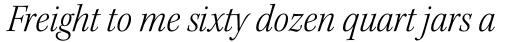 Kepler Std SubHead SemiCond Light Italic sample