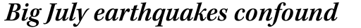 Kepler Std SemiCond SemiBold Italic sample