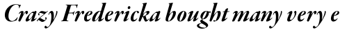Garamond Premr Pro Display Bold Italic sample