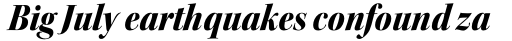 Kepler Std Display SemiCond Black Italic sample