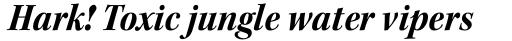 Kepler Std SubHead SemiCond Bold Italic sample