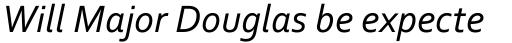 Corbel Italic sample