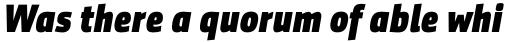 Sentico Sans DT Cond ExtraBold Italic sample