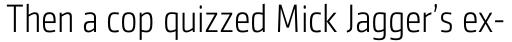 Sentico Sans DT Cond Light sample