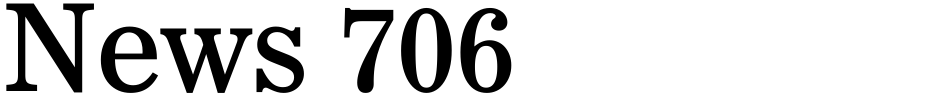 Click to view  News 706 font, character set and sample text