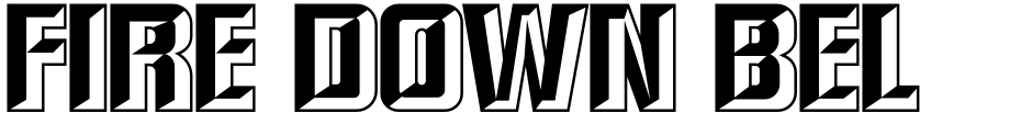 Click to view  Fire Down Below NF font, character set and sample text