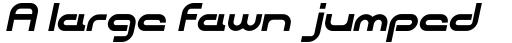 CentreForward Bold Italic sample