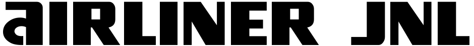 Click to view  Airliner JNL font, character set and sample text