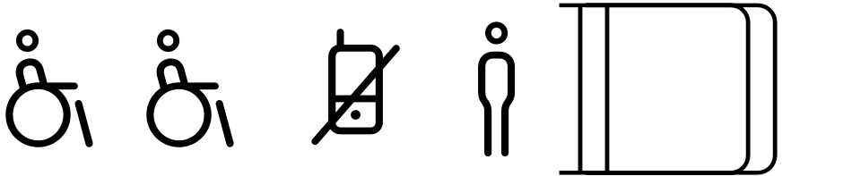 Click to view  FF Netto Icons font, character set and sample text