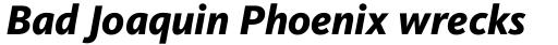 FF Kievit Pro ExtraBold Italic sample