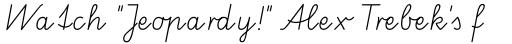 FF Schulschrift Std A Normal sample