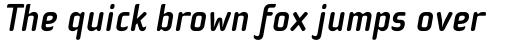 Cholla Sans Bold Italic sample