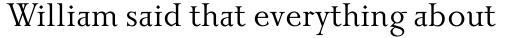 Priori Serif Regular sample