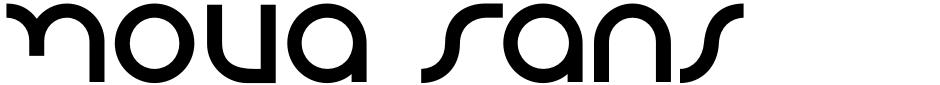 Click to view  Nova Sans font, character set and sample text