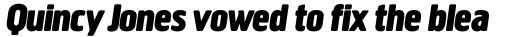 Creighton Bold Italic sample